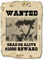 Spike wanted poster by AceZeroX