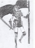 Jeanne d'Arc by LOrdalie