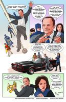 TLIID 254. Agent Coulson meets Batman '66 by AxelMedellin