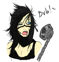 Andy headshot BVB by iFierceFang