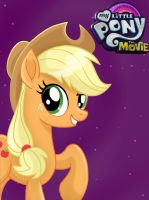 My Little Pony: the Movie Applejack by JustSomePainter11
