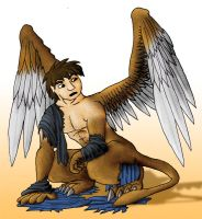 Gryphon Transformation by Saurus