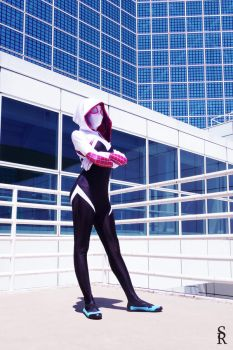 Marvel Gals: Spider-Gwen by Memento-Mori-San