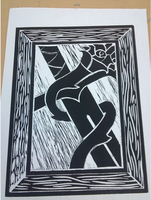 Beginning drawing class - Printmaking by M-Rehe