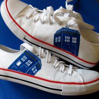 Tardis shoes by F-A