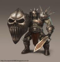 Orc Warrior by Luk999