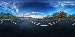 Asahi Touge parking lot HDRI by Shiroutsuri