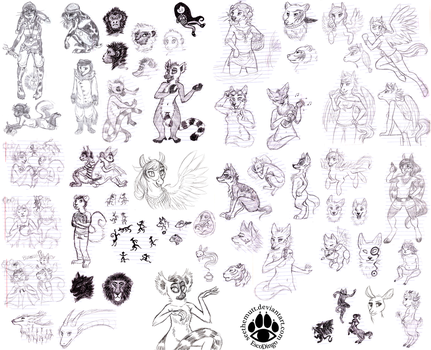 Sketch Compilation 2011-2012 by SeeTheMutt