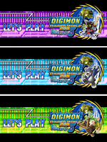 Let's Play Digimon World 2003 Title Banners by Bunni89
