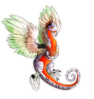 Coatl Dragon by CursedAffliction