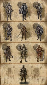 ESO Armor concepts *UPDATE* by SenorDisasterMaster