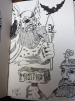 Norse pantheon  by GentlestGiant