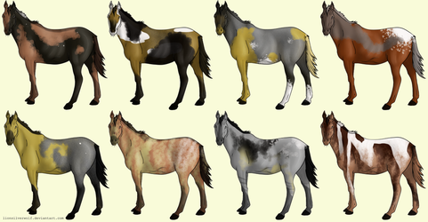 OPEN 30 Point Chimera Horse Adopts by lionsilverwolf