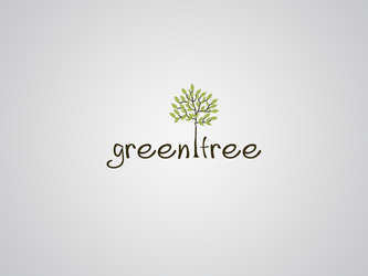 green tree logo by Darkmy1