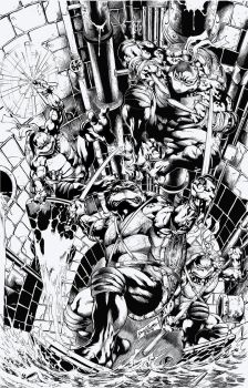 TMNT - by Jose Luis by Pendecon