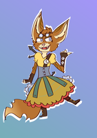 Commission #1 Marice the Steampunk Fox by Crystalkoro-ni