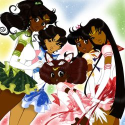 Sailor Moon - Ethnic Wallpaper Edition 1 by guillmon9005