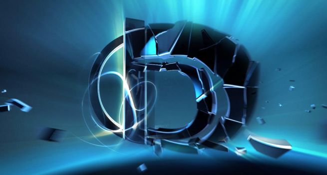 Shatter 1 - 3d typography animation by greQ111