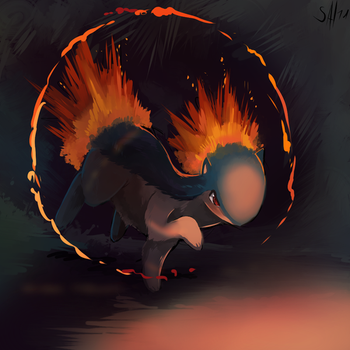 Flame Ring by salanchu