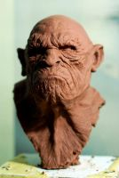 Apeman1 by sculptart31
