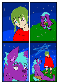 A Rainy Day (Sketch comic) by Cianjoeh