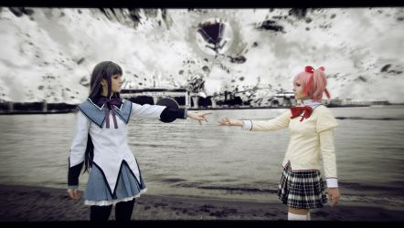 Madoka - What ever happens, we'll meet again by Saerithi