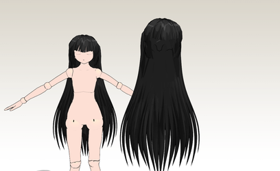 MMD Tami's Hair -READ INFO- by amiamy111