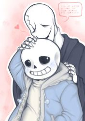 Sans and Gaster by Flotts
