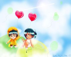 Our balloons by babymiwa