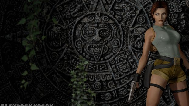 Tomb Raider 1 Wallpaper #TombRaider20 by Roli29