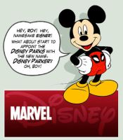 The MARVELS of Disney by JoniGodoy