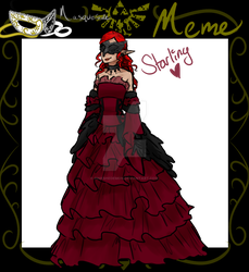Starling Masquerade Meme by PinkSheDemon