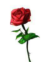 A Rose For Your Thoughts - by YoukoKurama25