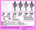Commissionsheet by AshWolves5