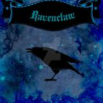 Fabric Design: Ravenclaw by wolf-girl87