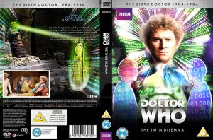 Doctor Who The Twin Dilemma Custom Cover by GrantBattersby