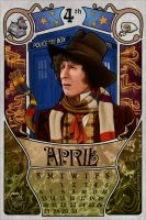 4th  Doctor by boop-boop