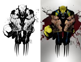Wolverine by scroll142