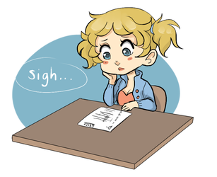 Weekly challenge: high school by Golly-chan