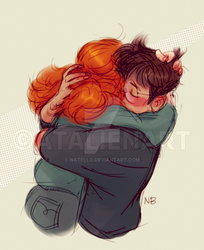 Hugs are important by Natello