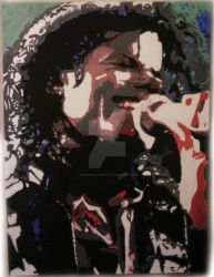 Michael Jackson - Pop Art Painting by TheArtfulShow