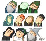 Some HP characters by albus119