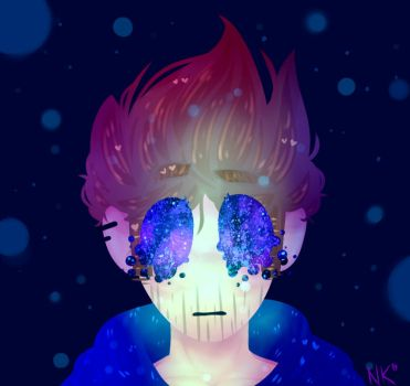Trapped in the galaxy    Eddsworld by Nikkisses