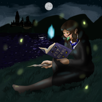 A Ravenclaw Animagus ritual by BrushFox