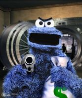 cookie monster by anylogin