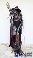 Sylvanas armor lateral by Dewbunch