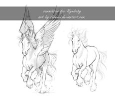 Commmission sketch - Rymbaby by AonikaArt