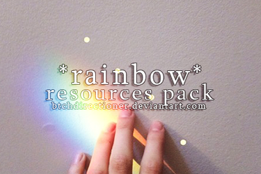 .rainbow resources pack by btchdirectioner