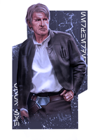 Han Solo by ChristopherOwenArt