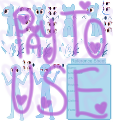 Pony and Equestria Girls Reference Sheet -  P2U by MonkFishyAdopts